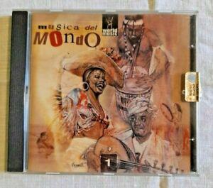 WORLD MUSIC Musica del Mondo Vol. 1 Collection Musica Compilation CD