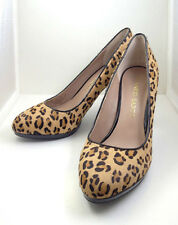 Franco Sarto Women's Darren 2 Pump Honey US Size 6W Animal Print,High Heel