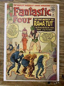 Fantastic Four #19/Silver Age Marvel Comic Book/1st Rama-Tut/FR-GD
