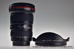 Near MINT Canon EF 16-35mm f/2.8L II USM