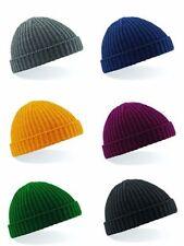 Winter Solid Beechfield Hats for Men