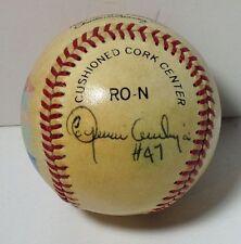 Joaquin Andujar Signed Painted St. Louis Cardinals Baseball 1982 World Series
