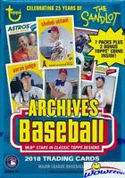 2018 Topps Archives Baseball EXCLUSIVE Factory Sealed Blaster Box-BONUS 2 Coins