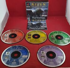 Riven the Sequel to Myst Sony Playstation 1