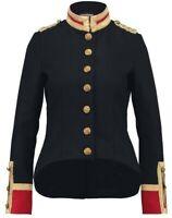 Ralph Lauren Denim & Supply Women Military US Army Wool Officer Band Coat Jacket