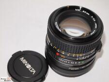 Minolta Lens 1,4/50 MM On Olympus/Panasonic (Equiv. 1,4/100mm) Mft-Mount