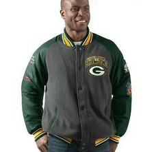 NFL Green Bay Packers NWT Limited Edition Superbowl Varsity Jacket Size Large