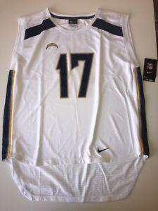 Nike NFL LA Charger #17 Rivers Sleevless Jersey 776203-101 Women Size Xl
