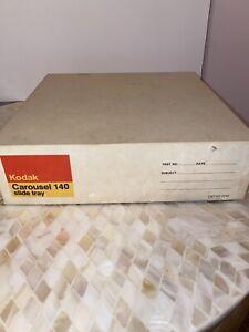 Vintage Kodak Carousel Transvue 140 Slide Tray in original box
