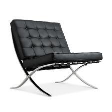 Pavilion 100% Genuine Top Grain Italian Leather Lounge Reception Chair Sofa Seat