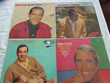 4x Vinyls,Perry Como,Dream Along,End of the Day,Love You So,We Get Letters,Lps