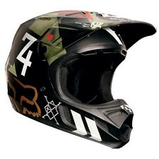 Fox Racing V4 Carbon Off Road MX Helmet Machina Camo Medium MD Closeout