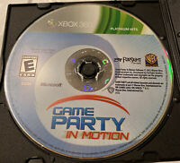 Game Party: In Motion (XBOX 360) Disc Only