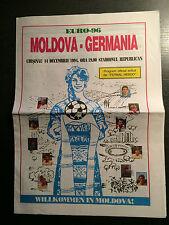 14.12.1994 Moldawien - Deutschland, EM-Qualifikation in Chisinau - Fotbal Hebdo