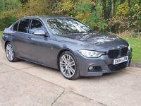 2014 (64) BMW 3 SERIES 335d M SPORT X-DRIVE 3.0 DIESEL AUTO GREY DAMAGED