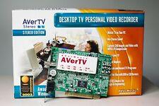 AverTV Stereo - Desktop TV Tuner PVR - PCI - excellent condition