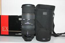 Sigma DG 50-500 mm F/4 - 6.3 APO  Pentax 1 Jahr Gewährleistung