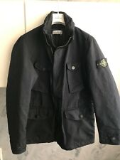 STONE ISLAND FIELD JACKET DAVID-TC TG. L COLORE  BLU IN POLIESTERE/POLIAMMIDE