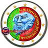 2 Euro Commémorative Portugal 2019 en Couleur Type A - Ferdinand Magellan