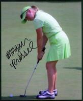 Original 8x10 Autograph of LPGA Golfer Morgan Pressel, Has won 5 Pro Events