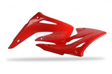 New HONDA CR 85 03-07 Radiator Rad Scoop Shroud Plastics Red Pair 04 05 06 MX