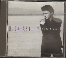 RICK ASTLEY Body & and Soul CD 10 track BOOKLET 12 page Photos Lyrics