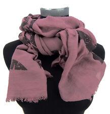 écharpe pour femmes étoile rose vieilli noir par Ella Jonte étoiles + rayures