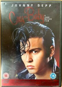 Cry Baby DVD 1989 Cult Biker Musical Classic w/ Johnny Depp and Iggy Pop