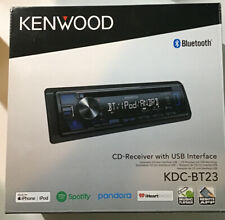 Kenwood KDC-BT23 1-DIN CD Car In-Dash  Receiver Bluetooth Made For iPhone/ipod