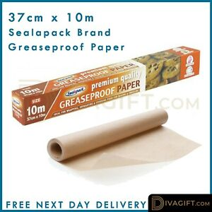 37CM*10M Silicone Greaseproof Baking Parchment Paper Nonstick Roll Sheet Kitchen