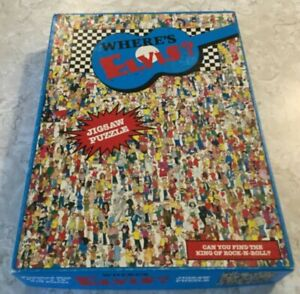 Where's Elvis? Jigsaw Puzzle Can You Find The King Of Rock-N-Roll? 513 Pieces
