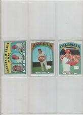 1972 TOPPS BASEBALL PICK-5 TO COMPLETE YOUR SET OR TEAM SET      EXCELLENT-MINT