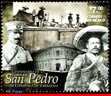 14-57 MEXICO 2014 CEN.CONQUEST SAN PEDRO,COAHUILA DE ZARAGOZA,WAR,MILITARISM,MNH