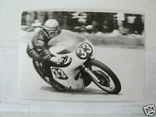 C BERT OOSTERHUIS NORTON NO 33 NK 350 CC 1965 VINTAGE POSTCARD MOTO GP 18-08