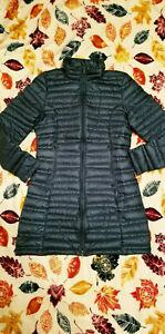Women PATAGONIA Fiona 600 Down Ultralight Parka Puffer Winter Coat ARBOR GREEN S