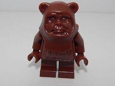 Lego  Brown Ewok Minifgure No Paint Design Real  Lego SWF#18