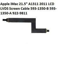 "Apple iMac 21.5"" A1311 2011 LCD LVDS Screen Cable 922-9811 593-1350-B 593-1350-A"