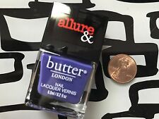 BUTTER London Nail Polish * VIOLET'S REVENGE * Half Size .2 oz * SEALED