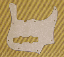 004-9435-000 White Pearl Fender Jazz Bass Deluxe 4-String Pickguard 9 Hole