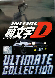 DVD ANIME INITIAL D SEASON 1-6 + BATTLE STAGE + EXTRA STAGE + LEGEND 1-2 ENG DUB