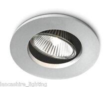 Philips 57959/48/16 Smartspot Recessed Halogen Downlighter Spotlight in Aluminiu