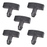 Recoil Handle Pull start Rubber Replacement Garden Machine Fitting 5Pcs