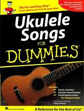 Ukulele Songs for Dummies Uke Chord Melody Songbook
