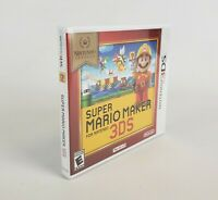 Nintendo Selects 3DS Super Mario Maker Brand New Rated E Video Game