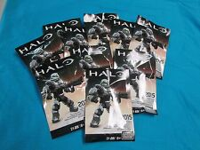 Lot of 10 2015 SDCC MEGA BLOKS GAMERS EXCLUSIVE HALO FIGURE
