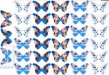 24 Muffin & Cupcake Aufleger  Oblate - Fondant Schmetterlinge C1