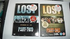 Lost Series 1& 2 DVDs