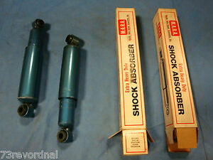 1955 - 1963  Willys Jeep CJ6 JC6 FC150 FC170 Shocks OIL PAIR NORS USA Made