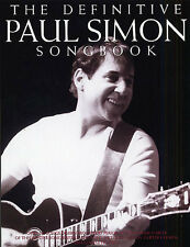 The Definitive Paul Simon Songbook Learn to Play Piano Guitar Lyrics Music Book