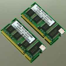 1GB kit (2X 512MB) PC2100 DDR266 SODIMM 200PIN MEMORY LAPTOP RAM 266MHZ Notebook